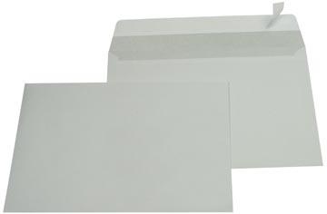 Gallery Ft 162 x 229 mm (C5) bande adhésive, intérieur gris
