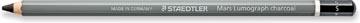 Staedtler crayon de fusain Mars Lumograph, doux