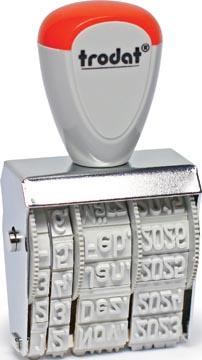 Trodat tampon dateur Classic Line 5 mm, néerlandais