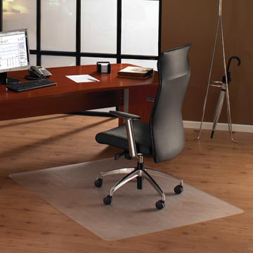 Floortex tapis de sol Cleartex Ultimat, pour les surfaces dures, rectangulaire, ft 120 x 150 cm