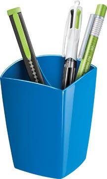 Gloss by CEP pot à crayons avec 2 compartiments, bleu