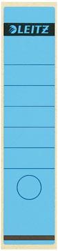 Leitz étiquettes de dos, ft 6,1 x 28,5 cm, bleu