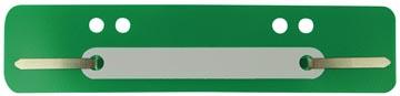 Fixe-dossiers, vert, paquet de 25 pièces