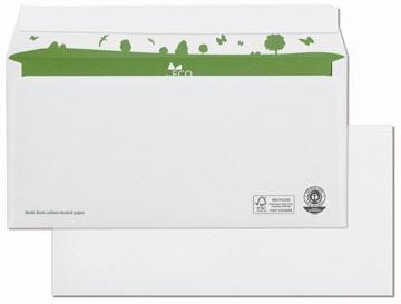 Bong enveloppes beECO, ft 110 x 220 mm, sans fenêtre, boîte de 500 pièces