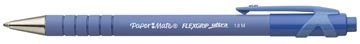 Paper Mate stylo bille Flexgrip Ultra RT, moyenne, bleu