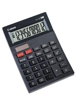 Canon calculatrice de bureau AS-120