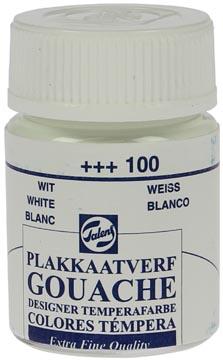 Talens gouache Extra Fine, flacon de 16 ml, blanc