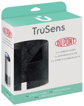 Leitz DuPont Couche de carbone de rechange pour purificateur d'air TruSens Z-3000, paquet de 3 pièces