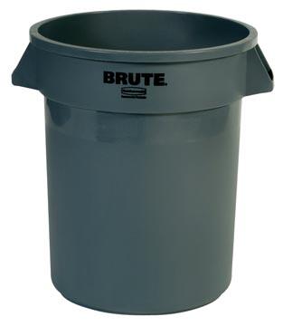 Rubbermaid conteneur Brute, sans couvercle, 76 litre, gris