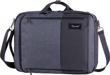 Pulse sac à dos et sac informatique pour ordinateurs portables, noir