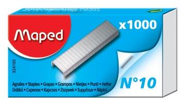 Maped agrafes n° 10, boîte de 1.000 agrafes