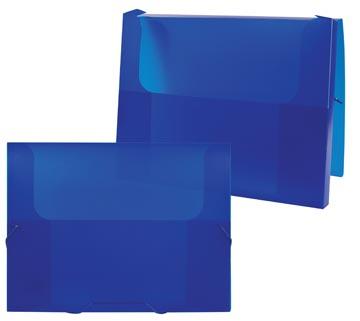 Beautone boîte de classement Frosted bleu