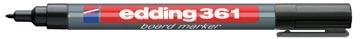 Edding marqueur pour tableaux blancs, e-361, noir