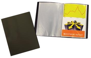 Beautone protège documents, A4, 10 pochettes, noir