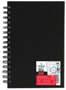 Canson bloc de croquis 'Art book One' 80 feuilles 21,6 x 27,9 cm