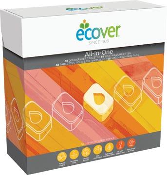 Ecover tablettes pour lave-vaisselle, boîte de 68 pièces
