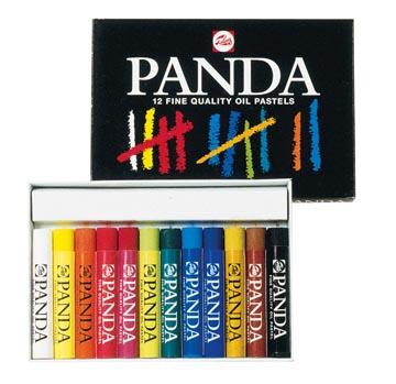 Talens Panda pastel à l'huile, boîte de 12 pastels