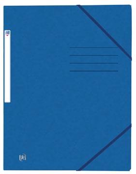 Oxford Top File+ chemise avec élastiques en carton, ft A4, bleu