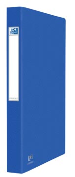 Elba Oxford Eurofolio classeur, pour ft A4, 2 anneaux, bleu