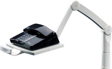 Styro bras pour téléphone gris clair