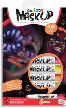 Carioca bâtons de maquillage Mask Up Neon, boîte avec 6 bâtons