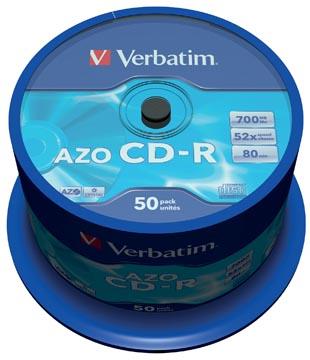 Verbatim CD enregistrable, spindle de 50 pièces