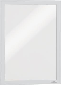 Durable Duraframe cadre d'information avec l'encadrement magnétique, A4 , blanc, packet de 2 pièces