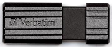 Verbatim clé USB 2.0 PinStripe, 8 Go, noir