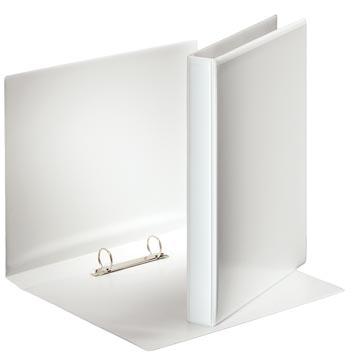 Esselte classeur à anneaux personnalisable, dos de 3,8 cm, 2 anneaux en O de 25 mm, blanc