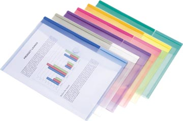 Tarifold pochette-documents Collection Color, pour ft A4 (316 x 240 mm), paquet de 12 pièces