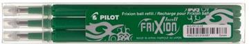 Pilot recharge pour FriXion Ball et Frixion Ball Clicker, pointe moyenne, vert