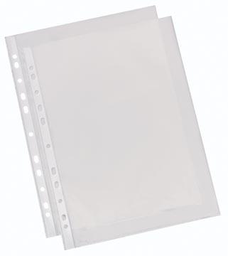 Esselte pochettes perforée lisse, standard, 60 microns