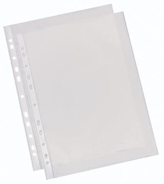 Esselte pochettes perforée grainée, economy, 50 microns