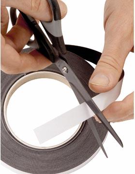 Maul bande magnétique auto-adhésive, ft 10 m x 1 cm