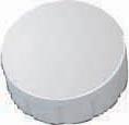 Maul aimant Solid, diamètre 15 mm x 7 mm, blanc, boîte de 10 pièces