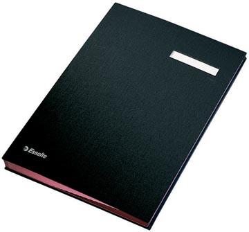 Esselte signataire, ft A4, 20 compartiments, noir