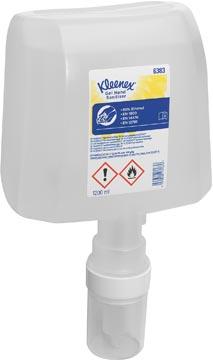 Kimberly-Clark Kleenex alcoholgel désinfectant les mains, cartouche distributeur, incolore, 1,2 litre
