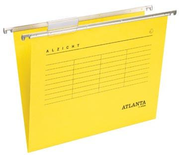Atlanta dossiers suspendus Alzicht Spectrum ft A4, fond en V, jaune