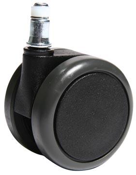 Roues pour surfaces dur, diamètre: 65 mm, paquet de 5 pièces