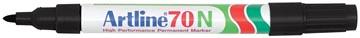 Marqueur permanent Artline 70, noir