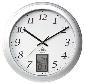 Unilux horloge murale Instinct, diamètre 30 cm, blanc
