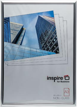 Inspire for Business cadre photo Easyloader, argent, ft A3
