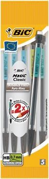 Bic portemine BicMatic Classic, blister de 5 pièces