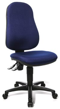 Topstar chaise de bureau Point 60, bleu