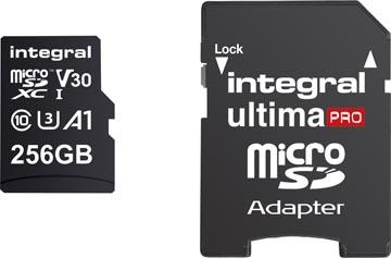 Integral carte mémoire microSDXC, 256 Go