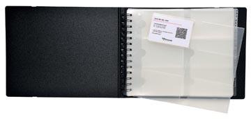 Exacompta Exactive pochettes cartes de visite pour Exacard 75134E, paquet de 10 recharges