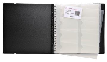 Exacompta Exactive pochettes cartes de visite pour Exacard 75234E, paquet de 10 recharges