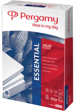 Pergamy papier d'impression Essential, ft A4, 80 g, paquet de 500 feuilles