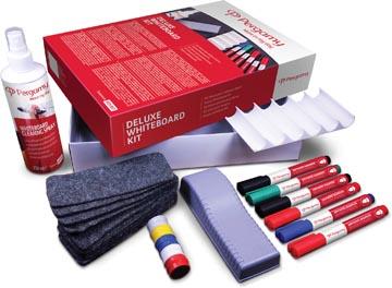 Pergamy Deluxe kit pour tableaux blancs, 6 pièces