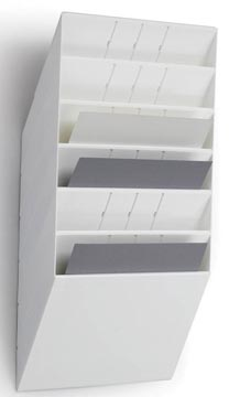 Durable Flexiboxx 6 A4 Landscape blanc